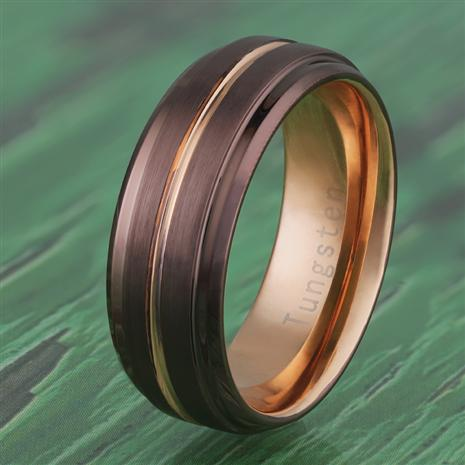 Mens Tungsten Heat Ring