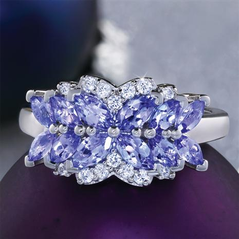 round blue by products john dyer a tanzania violet tanzanite cut