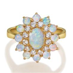 The Outback Opal Ring