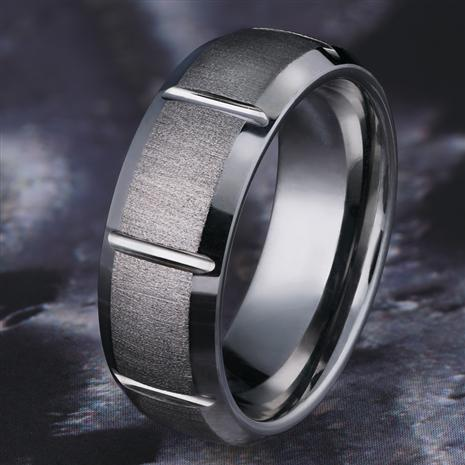 Tungsten Duo Ring