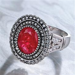 Ruby Romance Ring (5 ctw)