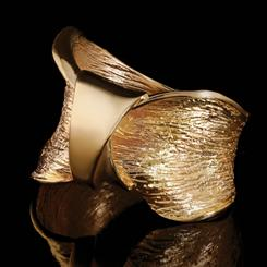 Scultura Gold-Finished Moderna Ring