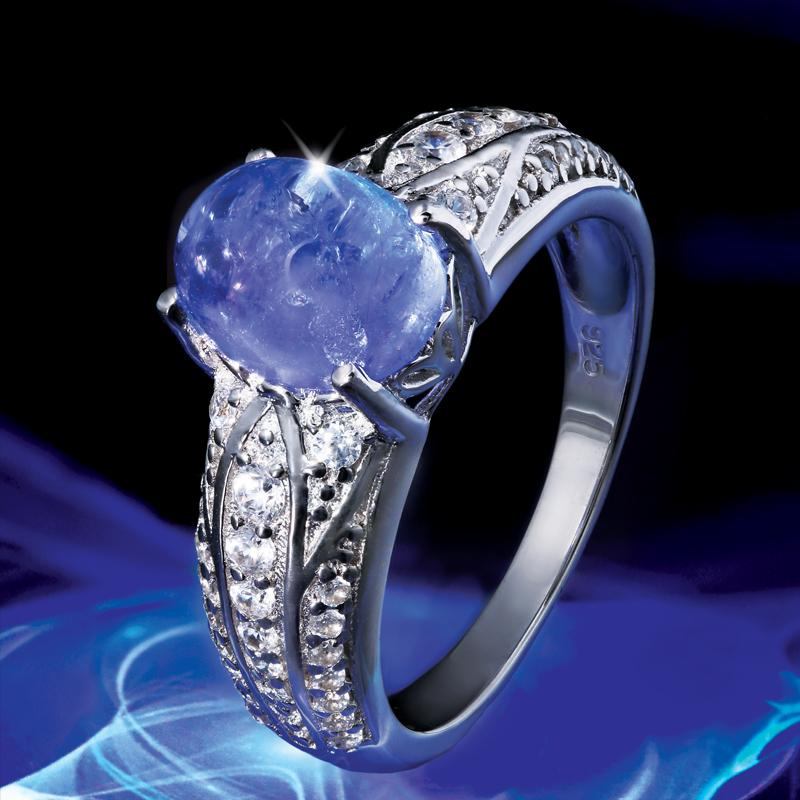 Famous Tanzanite: Tanzanite Celebration Collection Ring W9071