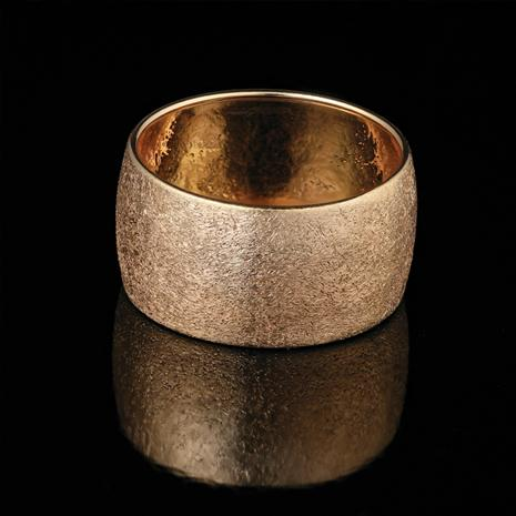 14K Gold Midas Ring