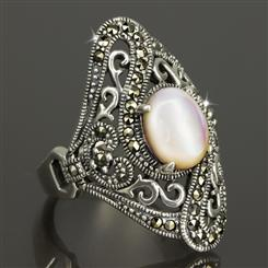 Estate Mother of Pearl Ring