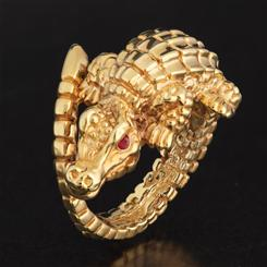 Alligatore Ring