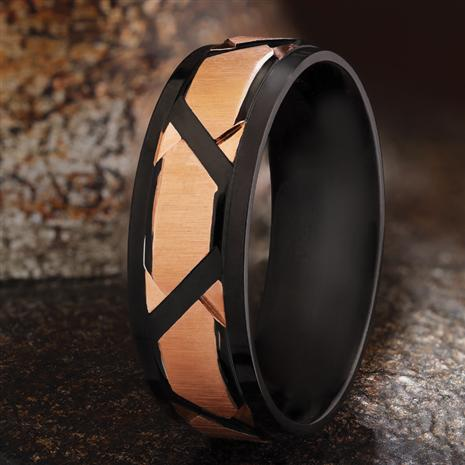 Men's Ionic Steel Ring
