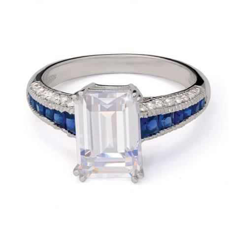 Silver Screen Ring