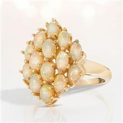 Allure Opal Ring