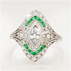 Art Deco Heyday Ring