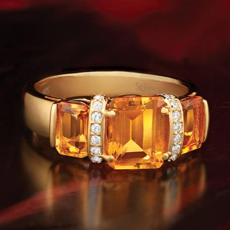 Citrine Infusion Ring