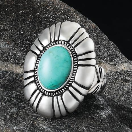 Jewel of the Desert Turquoise Ring