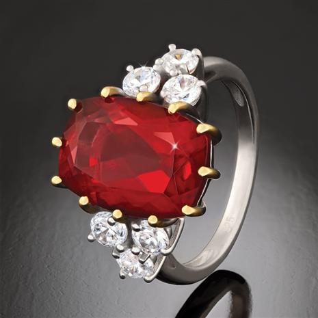 Scienza Ruby Romance Ring