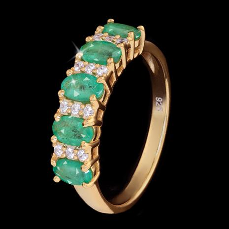 Sweet Dreams Zambian Emerald Ring